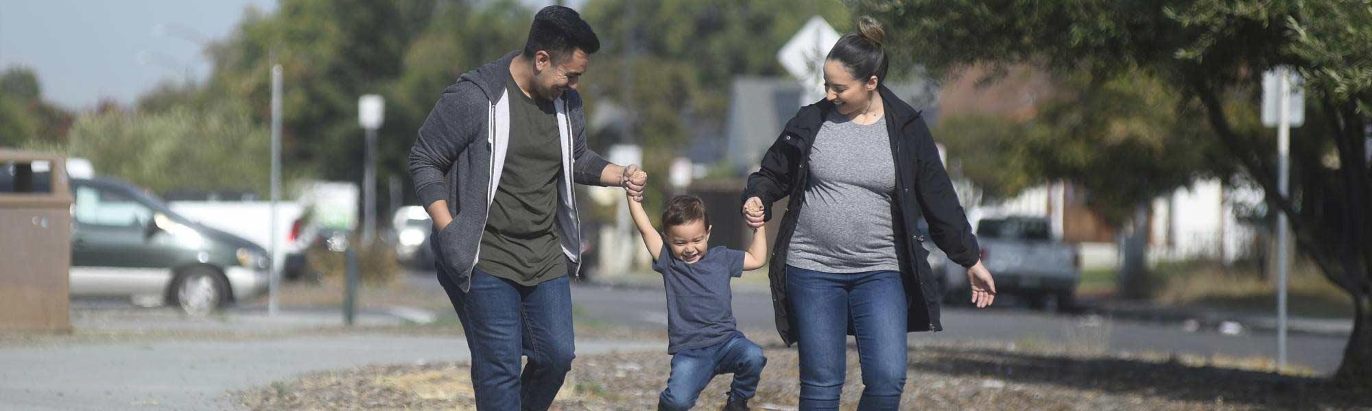 Couple & Their Child
